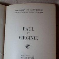 Gebrauchte Bücher - PAUL ET VIRGINIE - 140089482