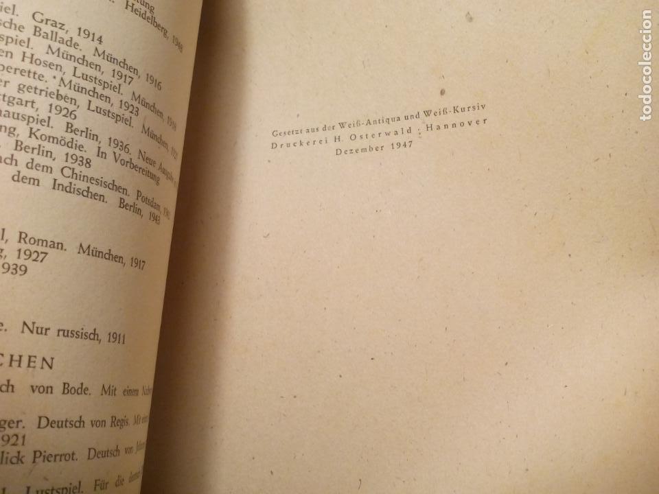 Libros de segunda mano: EDGAR ALLAN POE DER RABE. UND ANDERE GEDICHTE. BUCHEREI HAHN NR. 17. 1947 - Foto 3 - 140184450