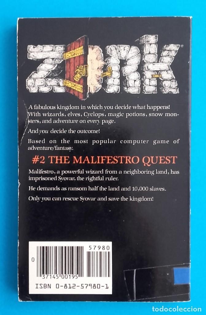 ZORK: THE MALIFESTRO QUEST  S  ERIC MERETZKY  1983
