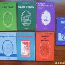 Libros de segunda mano: EDITORIAL LUR CUENTOS EUSKERA CLÁSICOS OZ KO MAGOA ROBIN HOOD PRINTZEA ETA ESKALEA OPORTUNIDAD. Lote 140714334