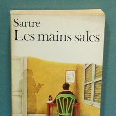 Libros de segunda mano: LES MAINS SALES. SARTRE. TEXTO EN FRANCES. Lote 141274842