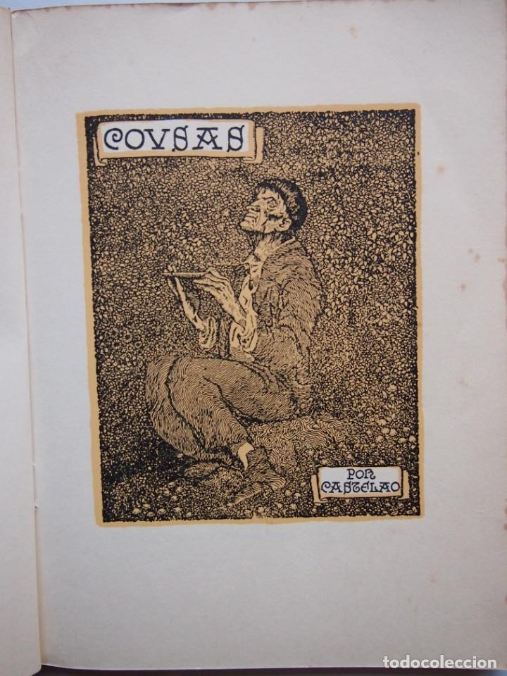 Libros de segunda mano: COUSAS POR CASTELAO. EDITORIAL GALAXIA. 4º EDICIÓN. - Foto 3 - 141688214