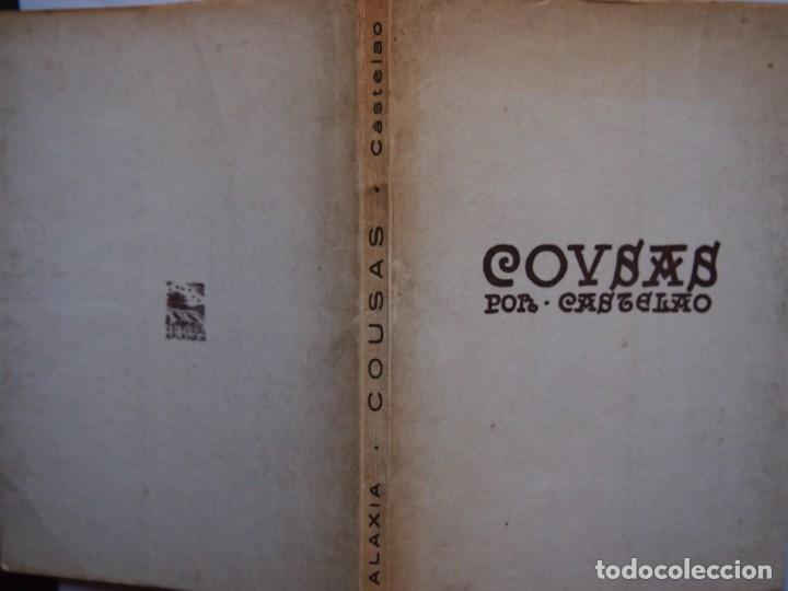 Libros de segunda mano: COUSAS POR CASTELAO. EDITORIAL GALAXIA. 4º EDICIÓN. - Foto 7 - 141688214