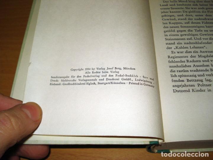 Libros de segunda mano: DER G'WISSENSWURM (EIN VOLKSROMAN). FACKELVERLAG. AÑO 1954. ALEMÁN - Foto 5 - 142098894