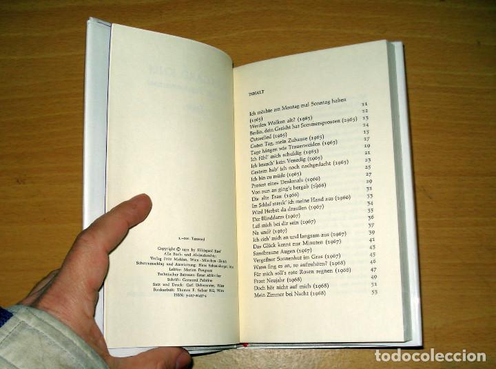 Libros de segunda mano: ICH BRAUCH TAPETENWECHSEL TEXTE (HILDEGARD KNEF). MOLDEN. AÑO 1978. ALEMÁN. - Foto 3 - 155824965