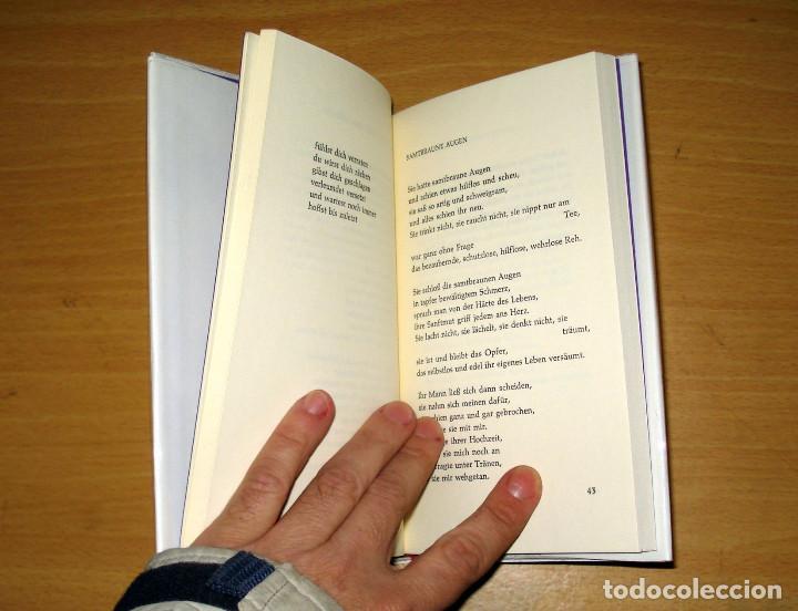 Libros de segunda mano: ICH BRAUCH TAPETENWECHSEL TEXTE (HILDEGARD KNEF). MOLDEN. AÑO 1978. ALEMÁN. - Foto 4 - 155824965