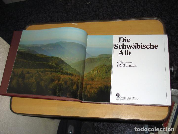 Libros de segunda mano: DIE SCHWÄBISCHE ALB ( Kleemann Georg , Edmond van Hoorick). 1982. ALEMÁN, FRANCÉS, INGLÉS - Foto 2 - 143187442