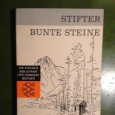 Libros de segunda mano: STIFTER BUNTE STEINE. Lote 143518742
