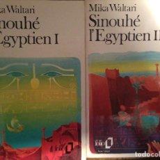 Libros de segunda mano: MIKA WALTARI - SINOUHE L' EGYPTIEN I - II. Lote 143530882