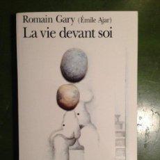 Libros de segunda mano: ROMAIN GARY: LA VIE DEVANT SOI / TEXTE INTEGRAL. Lote 143532846