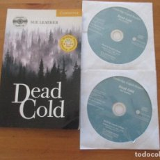 Libros de segunda mano: DEAD COLD SUE LEATHER CABRIDGE LEVEL A2 2006 + 2 CDS MUY BUEN ESTADO. Lote 143643250