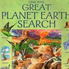 Libros de segunda mano: GREAT PLANET EARTH SEARCH (EMMA HELBROUGH). Lote 143852278