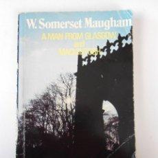Libros de segunda mano: A MAN FROM GLASGOW AND MACKINTOSH, (SOMERSET MAUGHAM) HEINEMANN GUIDED READERS INTERMEDIATE 3 1985. Lote 144081950