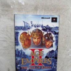 Libros de segunda mano: AGE OF EMPIRES THE AGE OF KINGS. Lote 144256546