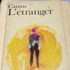 Libros de segunda mano - L'étranger. Albert Camus. Gallimard, París 1957. - 144510070