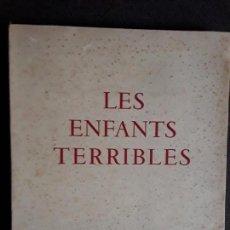 Libros de segunda mano: COCTEAU. LES ENFANTS TERRIBLES. CLÁSICO DE COCTEAU. BUENAS ILUSTRACIONES CON SU TRAZO INCONFUNDIBLE.. Lote 144860850