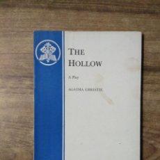 Libros de segunda mano: MFF.- THE HOLLOW BY AGATHA CHRISTIE.- SAMUEL FRENCH LTD.-1952.- 94 PAGINAS.-. Lote 145921766