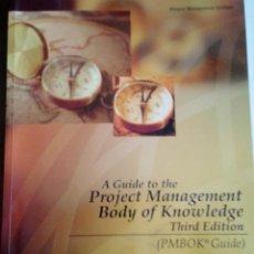 Libros de segunda mano: PROJECT MANAGEMENT BODY OF KNOWLEDGE GUIDE. EN INGLÉS. Lote 146576554