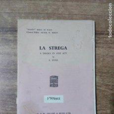 Libros de segunda mano: MFF.- LA STREGA BY S. FONE.- H. F. W. DEANE & SONS LTD.- 1949.- 24 PAGINAS. Lote 147638502