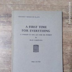 Libros de segunda mano: MFF.- A FIRST TIME FOR EVERYTHING BY JEAN GARSTANG.- H. F. W. DEANE & SONS LTD.- 1968.- 23 PAGINAS. Lote 147639562