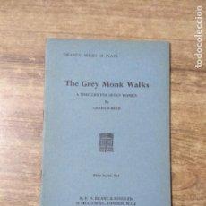 Libros de segunda mano: MFF.- THE GREY MONK WALKSOUT BY GRAHAM REED.- H. F. W. DEANE & SONS LTD.- 1968- 27 PAGINAS. Lote 147639954