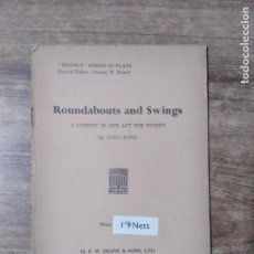 Libros de segunda mano: MFF.- ROUNDABOUTS AND SWINGS BY TONY ROWE.- H. F. W. DEANE & SONS LTD.- 1958.- 16 PAGINAS.-. Lote 147640954