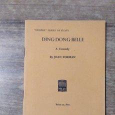 Libros de segunda mano: MFF.- DING-DONG BELLE BY JOAN FORMAN.- H. F. W. DEANE & SONS LTD.- 1962.- 38 PAGINAS.-. Lote 147760850