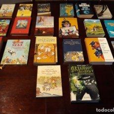 Libros de segunda mano: LOTE DE 18 LIBROS DE CUENTOS Y NOVELAS EN IDIOMA ALEMÁN. Lote 148530990