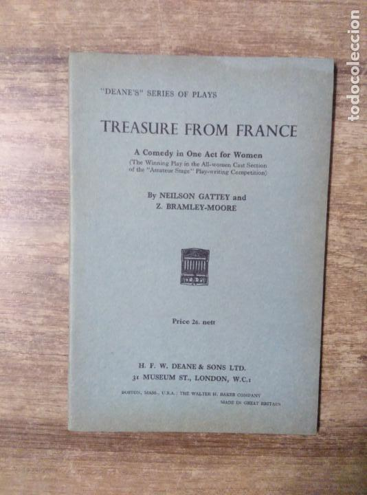 Libros de segunda mano: mff.- treasure from france by neilson gattey and z bramley-moore.- h. f. w. deane & sons ltd.- - Foto 1 - 149375634
