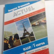 Libros de segunda mano: LIBRO DE TEXTO DE FRANCES 1º DE BUP DE 1981. Lote 149467890
