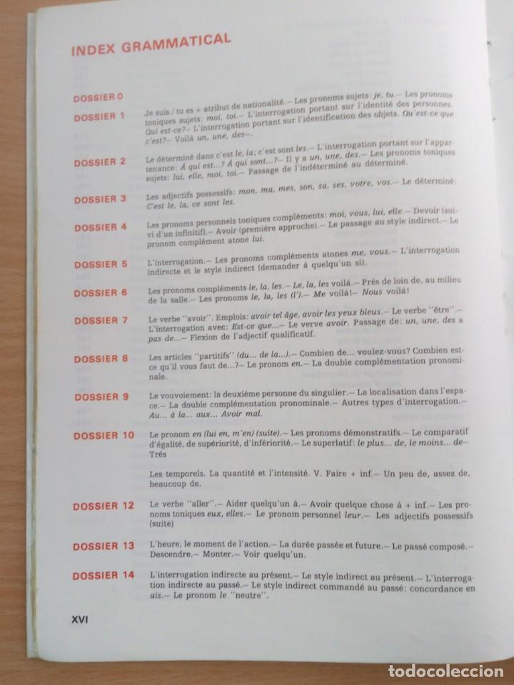 Libros de segunda mano: libro de texto de frances 1º de bup de 1981 - Foto 8 - 149467890
