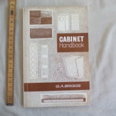 Libros de segunda mano: CABINET HANDBOOK. G.A. BRIGGS. 1971 RANK WHARFEDALE. FABRICACIÓN DE ALTAVOCES DE MÚSICA. BAFLES. Lote 150783442