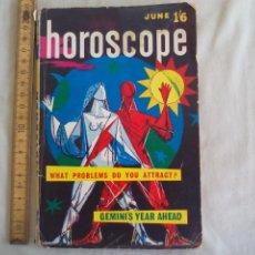Libros de segunda mano: JUNE'S HOROSCOPE JOURNAL OF ASTROLOGY. 1960 VOL. NO. 4. PUBLICACIÓN DE ASTROLOGÍA, HOROSCOPO. Lote 150785706