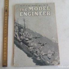 Libros de segunda mano: THE MODEL ENGINEER. VOL 104. NO. 2610. 1951. INGENIERIA, MODELISMO.. Lote 150836670
