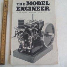 Libros de segunda mano: THE MODEL ENGINEER. VOL 100. NO. 2495. 1949. INGENIERIA, MODELISMO.. Lote 150836886