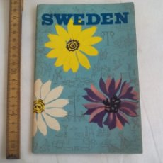 Libros de segunda mano: SWEDEN, PUBLISHED BY THE SWEDISH TOURIST TRAFFIC ASSOCIATION. WEZÄTA. 1954. SUECIA LIBRITO TURISMO. Lote 150839686