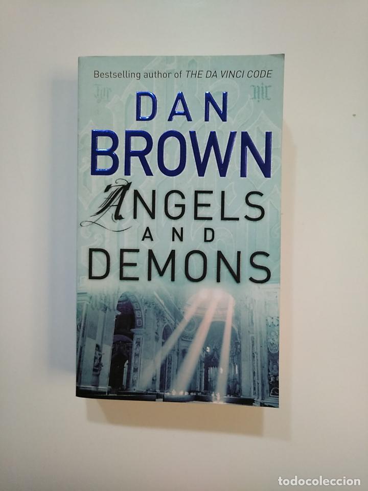 ANGELS AND DEMONS. DAN BROWN. EN INGLES. TDK363 (Libros de Segunda Mano - Otros Idiomas)