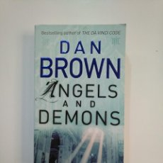 Libros de segunda mano: ANGELS AND DEMONS. DAN BROWN. EN INGLES. TDK363. Lote 151094326