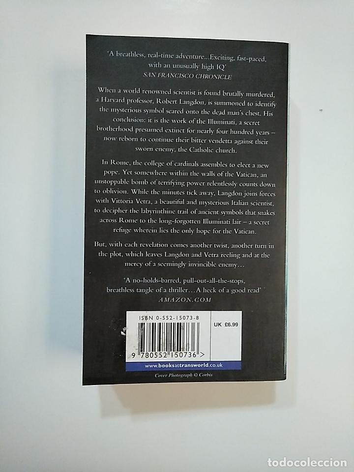 Libros de segunda mano: ANGELS AND DEMONS. DAN BROWN. EN INGLES. TDK363 - Foto 2 - 151094326