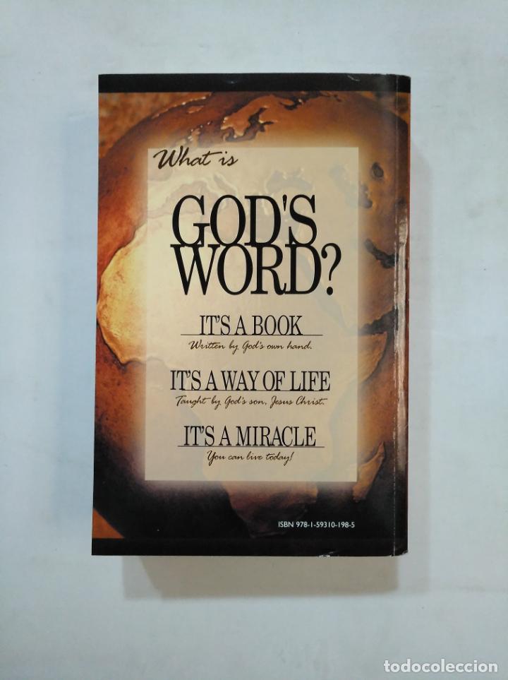 Libros de segunda mano: GOD'S WORD FOR YOU. KING JAMES VERSION. THE HOLY BIBLE. EN INGLES. TDK366 - Foto 2 - 151388222