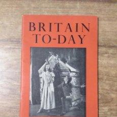 Libros de segunda mano: MFF.- BRITAIN TO-DAY.- THE ART OF ORSTORY.- CHRISTMAS BOOKS.- Nº 212 - DECEMBER 1953.- 52 PAGINAS.-. Lote 151425598