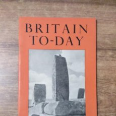 Libros de segunda mano: MFF.- BRITAIN TO-DAY.- NEW TOWNS.- AUTUM BOOKS.- Nº 209 - SEPTEMBER 1953.- 52 PAGINAS.- INGLES.-. Lote 151426326