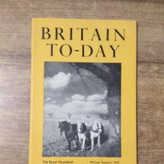 Libros de segunda mano: MFF.- BRITAIN TO-DAY.- THE TWO-PARTY SYSTEM.- NEW LITERATURE.- Nº 203 -MARCH 1953.- 48 PAGINAS.-. Lote 151435718