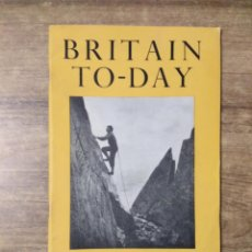 Libros de segunda mano: MFF.- BRITAIN TO-DAY.- THE AGE OF PLENTY.- NEW LITERATURE.- Nº 220- AUGUST 1954.- 52 PAGINAS. Lote 151436910