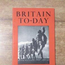 Libros de segunda mano: MFF.- BRITAIN TO-DAY.- AMATEUR OR PROFESSIONAL.- NEW LITERATURE.- Nº 219- JULY 1954.- 48 PAGINAS. Lote 151437346