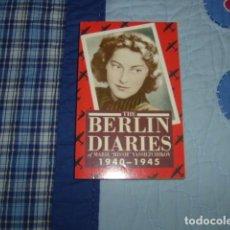 Libros de segunda mano: THE BERLIN DIARIES OF MARIE MISSIE VASSILTCHIKOV 1940-1945. Lote 151441862