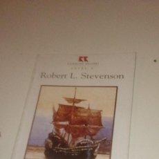 Libros de segunda mano: G-PPVP19 LIBRO ROBERT L STEVENSON TREASURE ISLAND . Lote 151454758