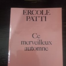 Libros de segunda mano: CE MERVEILLEUX AUTOMME - LA COUSINE.STOCK. MILANO, 1969. Lote 152017474