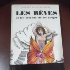 Libros de segunda mano: LES RÈVES ET LES MOYENS DE LES DIRIGER. DE SAINT DENYS, H. TCHOU. BLANCHARD. PARÍS, 1964. Lote 152306630