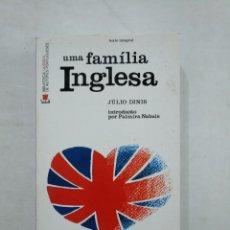 Libros de segunda mano: UMA FAMILIA INGLESA. JULIO DINIS. EN PORTUGUES. TDK371. Lote 152839746